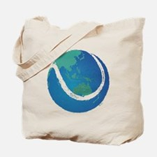 world tennis ball globe Tote Bag