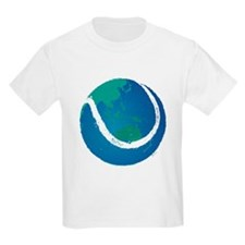 world tennis ball globe T-Shirt