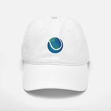 world tennis ball globe Cap