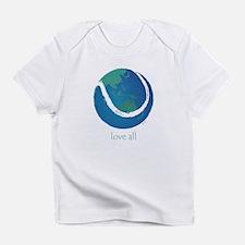 love all world tennis Infant T-Shirt