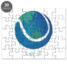 love all world tennis Puzzle