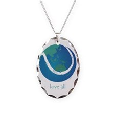 love all world tennis Necklace