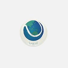 love all world tennis Mini Button (10 pack)