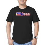 Filipino puerto rican Fitted T-shirts (Dark)