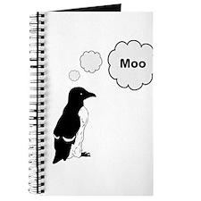 Moo Penguin Bird Journal