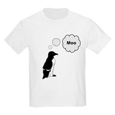 Moo Penguin Bird T-Shirt
