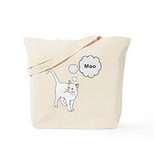 MOOcat Kitty Cat Tote Bag