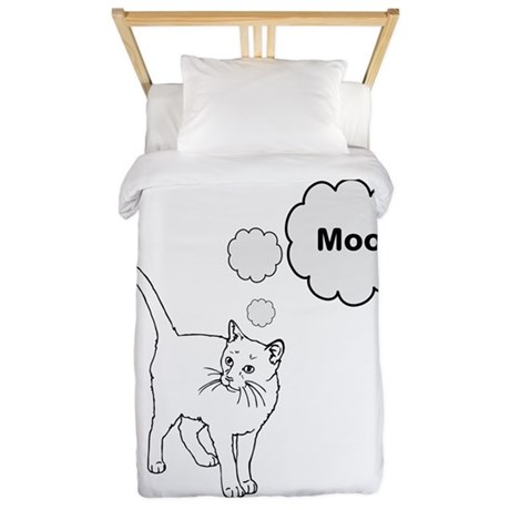 MOOcat Kitty Cat Twin Duvet