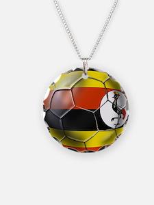 Uganda Football Necklace