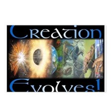 Creation Evolves Postcards (Package of 8)
