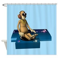 Funky Monkey Shower Curtain