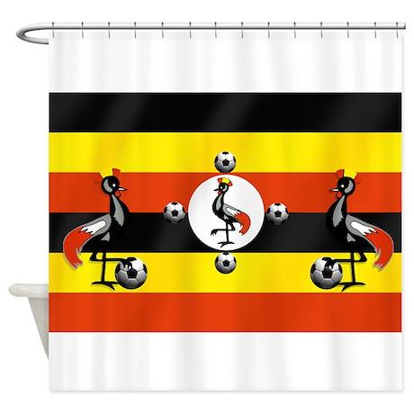 Uganda Cranes Shower Curtain