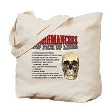 Necromancer Pick Up Lines Tote Bag