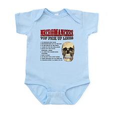 Necromancer Pick Up Lines Infant Bodysuit