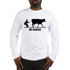 Ski Kansas Long Sleeve T-Shirt