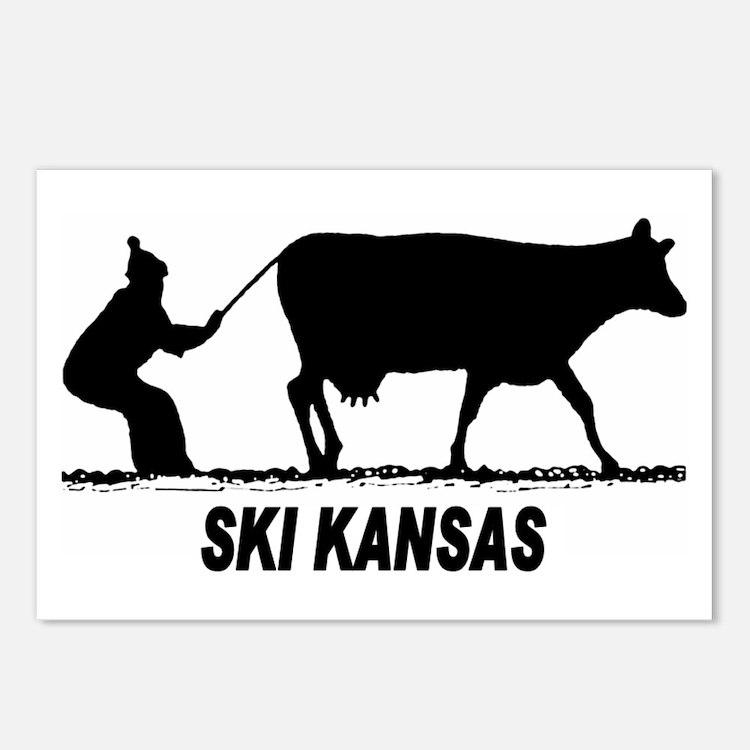 Ski Kansas Postcards (Package of 8)
