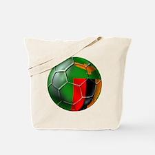 Zambia Football Tote Bag