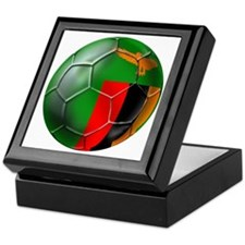 Zambia Football Keepsake Box