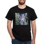 Colorful Cat Black T-Shirt