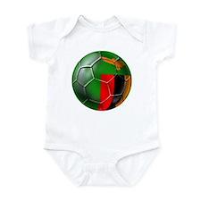 Zambia Football Infant Bodysuit