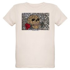 MosaicManNYC Skull and Rose T-Shirt
