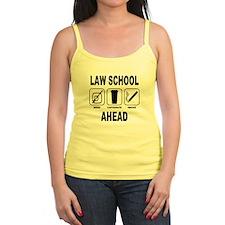 Law School Ahead 2 Jr.Spaghetti Strap