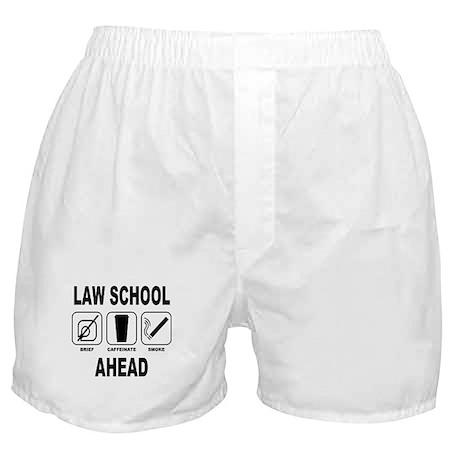 Law School Ahead 2 Boxer Shorts
