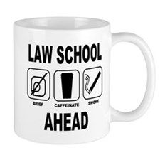 Law School Ahead 2 Mug
