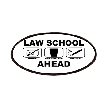 Law School Ahead 2 Patches