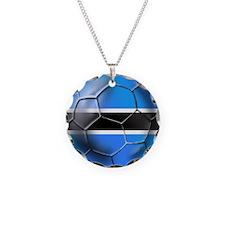 Botswana Football Necklace