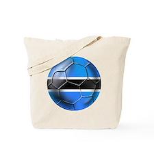 Botswana Football Tote Bag