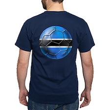Botswana Football T-Shirt
