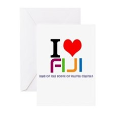 I love Fiji Greeting Cards (Pk of 10)
