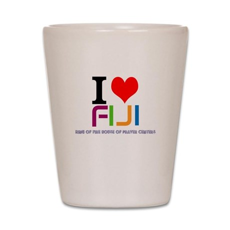 I love Fiji Shot Glass