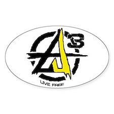 AGORIST Logo Decal
