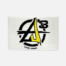 AGORIST Logo Rectangle Magnet (100 pack)