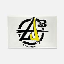 AGORIST Logo Rectangle Magnet
