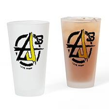 AGORIST Logo Drinking Glass