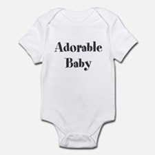 Adorable Baby Body Suit