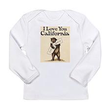 I Love You California Long Sleeve Infant T-Shirt
