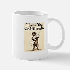 I Love You California Mug