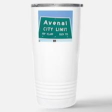 Avenal City Limit Stainless Steel Travel Mug