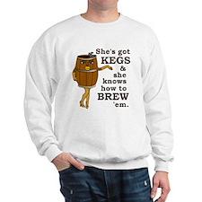 Funny Beer Brewer Sweatshirt