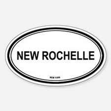 New Rochelle (New York) Oval Decal