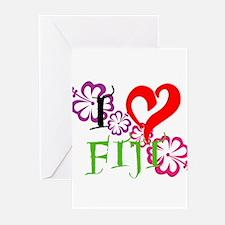 I heart Fiji Greeting Cards (Pk of 10)