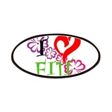 I heart Fiji Patches