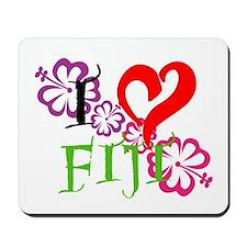 I heart Fiji Mousepad