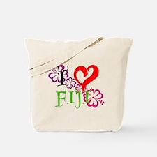 I heart Fiji Tote Bag