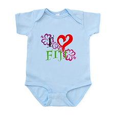 I heart Fiji Infant Bodysuit