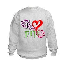 I heart Fiji Sweatshirt
